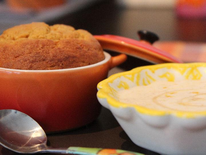 Mandarijnen cupcakes